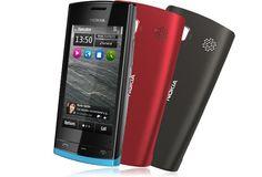 NOKIA 500  2011年発売のモデル。W-CDMAで5band対応という国際機。Symbian-OS最終版と言われるBelle対応ということで買ってみたが、完成度低いな