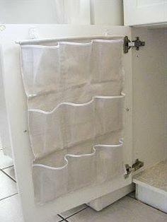 - Under the sink storage  - Pantry storage