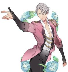 Viktor Nikiforov | Yuri!!! on Ice Lol I started watching this yesterday and I honestly cannot count all the times that I've lol'd and said it was gay. 10/10 would keep watching