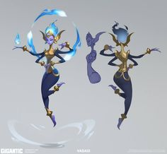 F/Yeah Album of Stuff I Like - Gigantic's Vadasi concept art