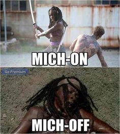 The walking Dead # Michonne LOL