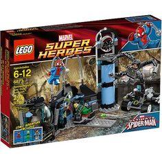 LEGO Super Heroes Spider-Man's Doc Ock Ambush Play Set