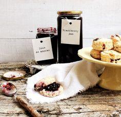 Pratos e Travessas: Doce de amoras e scones # Blackberry jam and scones   Food, photography and stories