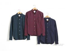 Item : 14W-PBD2 / Price : ¥13,000 + tax / Size : XS,S,M,L,XL / Color : GRN x NVY, RED x NVY, NVY x BLK