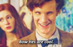 New trending GIF on Giphy. tv doctor who matt smith the doctor eleventh doctor bow tie. Follow Me CooliPhone6Case on Twitter Facebook Google Instagram LinkedIn Blogger Tumblr Youtube