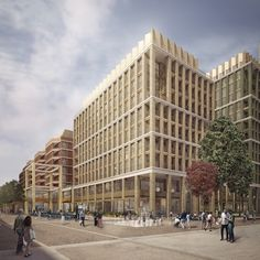 Whitechapel Square, London | Unit Architects