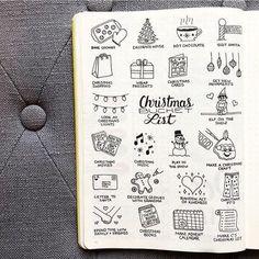 Image de christmas, december, and doodles