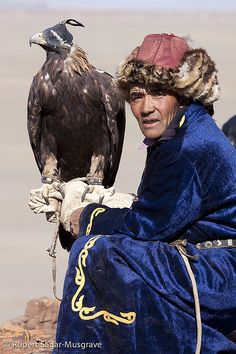 Mongolian (Kazak) Eagle Hunter