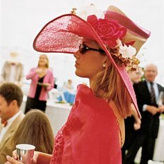Dress to Impress at the Kentucky Derby. This is definitely an impressive outfit! Love the color.