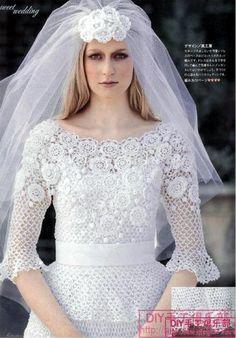 Vestidos de noiva em croch�