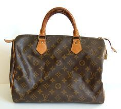How to refurbish a canvas and vachetta leather Louis Vuitton bag.