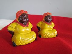 Vintage Aunt Jemima Salt and Pepper Shakers by BlingThings on Etsy, $14.95