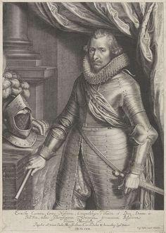 Willem Isaacsz. van Swanenburg, Portret van Ernst Casimir, graaf van Nassau-Dietz, 1612 | Amsterdam Rijksmuseum