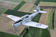 De Havilland Canada DHC-1 Chipmunk trainer, in Royal Air Force colours.