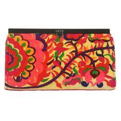 Global Craft Orange Blossom Clutch - Global Groove (P) Boho Home, Orange Bag, Orange Blossom, Decoration, Beautiful Hands, Fair Trade, Evening Bags, Clutch Bag, Purses And Bags