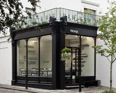 Exterior Inspiration for our new showroom design by contempoperth Design Café, Facade Design, Store Design, Exterior Design, Design Shop, Showroom Design, Retail Facade, Coffee Shop Design, Cafe Shop