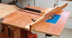 Simple Router Table - Woodworking Projects - American Woodworker