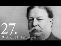 President of the United States: William Howard Taft American Presidents, Us Presidents, William Howard Taft, First Citizens, Einstein, United States, History, Youtube, Historia
