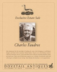Charles Faudree was a dear man.
