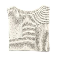 inspiration for crocheted top Knit Stripes~