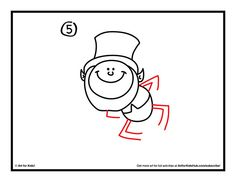 draw a leprechaun step 5