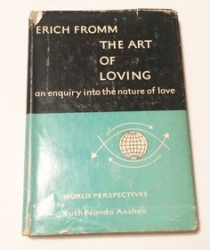 Art of Loving Erich Fromm 1956 Hardcover