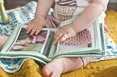 Baby's first photoalbum from Baby on the way E-Course by Rachel Denbow