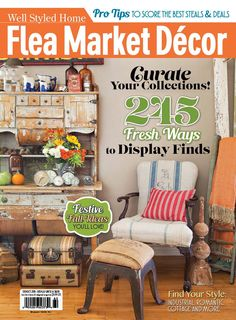 27 best flea market magazines covers images home magazine rh pinterest com