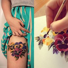 Creo que el mayor temor con el que la gente se encuentra antes de tatuarse es que nunca se puede saber si el tatuador que se escoge es capaz de dibujar lo que uno quiere en la piel.....y de por vid...