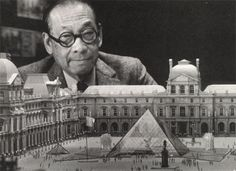 I. M. Pei, Born: April 26, 1917 (age 96),  Chinese-born American architect, designed the glass pyramid in front of the Louvre Museum in Paris, the John Hancock Tower in Boston, Massachusetts and the Rock and Roll Hall of Fame in Cleveland, Ohio
