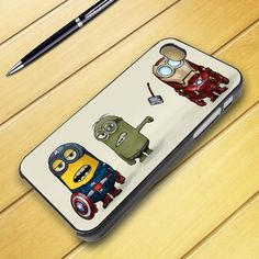 iphone 4/4s case - despicable minion avanger Iphone