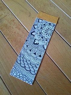 Bookmark zentangle design on Behance