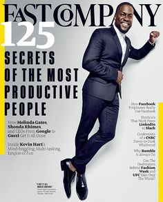 Kevin Hart's Funny Business | The most successful comedian in the world is also the most productive. Here's how he keeps all his projects in motion.