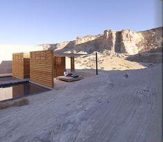 Outdoor rocky area of Spa: Amangiri Resort and Spa , Utah