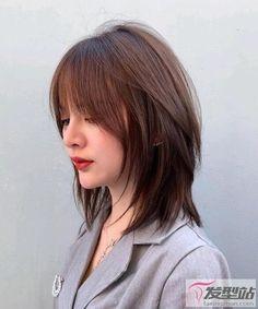 Haircuts Straight Hair, Short Hair Cuts, Korean Short Hair, Korean Hair Color, Girl Short Hair, Kpop Short Hair, Brown Hair Color Shades, Ulzzang Hair, Oki Doki