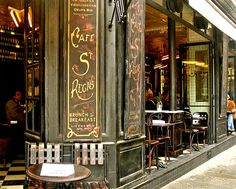 Cafe St Regis - Ile-St-Louis, Paris  |
