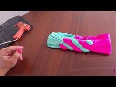 Turbante TRENZADO doble - YouTube