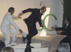 Juan Carlos' grande finale move at the dancing competition.