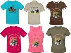 individuelle T-Shirts nach Kundenwünschen und Fotos gefertigt.