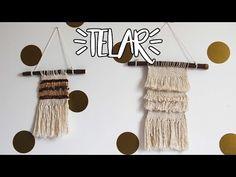 No paramos de verlos por todos sitios, así que hoy os proponemos 5 tutoriales sencillos y en vídeo para hacer un tapiz con telar. ¡Pon un tapiz en tu vida y en tus paredes! Loom Knitting, Diy Projects To Try, Youtube, Crochet, Hair Accessories, Scrapbook, Make It Yourself, Instagram, Blog