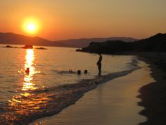 My home town Karystos - summer sunset Summer Sunset, Planet Earth, Planets, Travelling, Greece, Mosaic, In This Moment, World, Heart