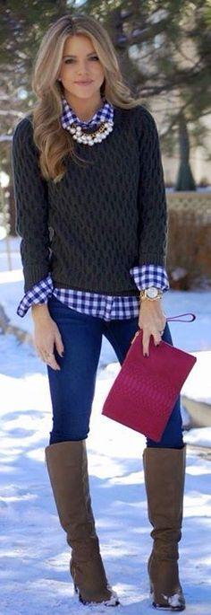 schönes Outfit