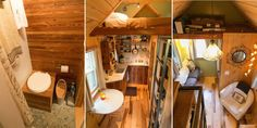 At 6'6″ tall and 225 lbs,Jeremy is proof that you can live comfortably in a small house even with a large build.  #TinyHouseforUs