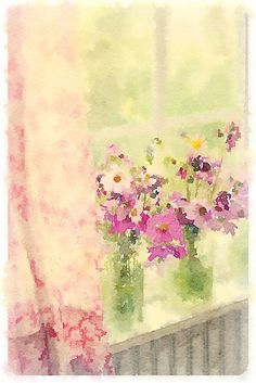 Spring window-Maria Starzyk