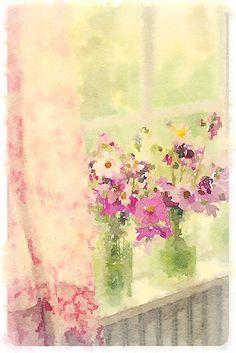 Spring window-Maria Starzyk