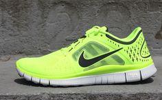"Nike Free Run +3 ""Volt"""