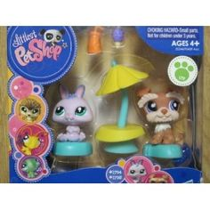 Littlest Pet Shop Portable Gift Set - Dog #1795 and Bunny #1794 (Toy)  http://howtogetfaster.co.uk/jenks.php?p=B004LM8WKI  B004LM8WKI