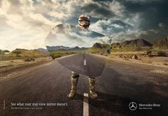 Mercedes-Benz Vans: Danger in the rear-view mirror, 3 | Ads of the World™