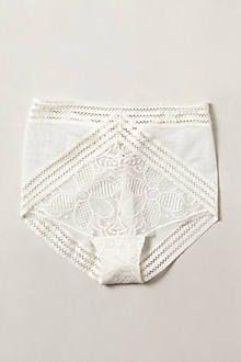 Faenza high waist briefs - anthropologie