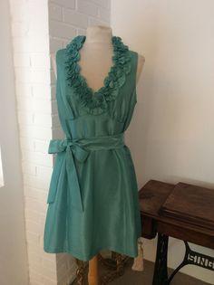 "London Times Aqua Cocktail dress 34"", Duckegg / Aqua, No Pattern, and V Neck   eBay"